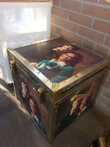 FS: Trunk-like Box with the Osmonds pictures on all 4 sides