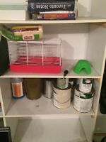 Hamster cage with all appliances