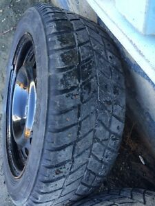 Tires and rims off 2013' civic 205/55r16 St. John's Newfoundland image 5