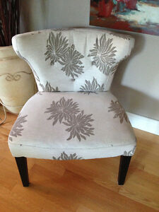 Occasional Chair (Floral Design) Strathcona County Edmonton Area image 1