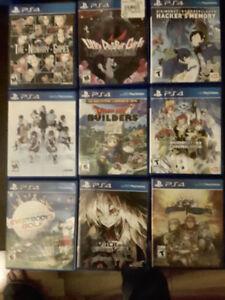 Nine PS4 Games Bundle