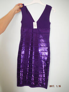 Robe mauve X-small