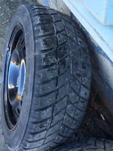 Tires and rims off 2013' civic 205/55r16 St. John's Newfoundland image 6