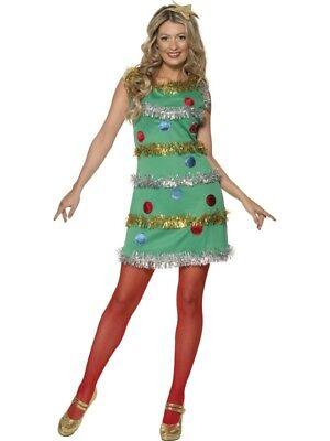 Weihnachtsbaum Kostüm Kleid Tannenbaum Xmas (Weihnachtsbaum Kostüm Kleid)