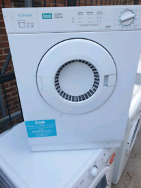 CREDA VENTED TUMBLE DRYER (3KG)(COMPACT DRYER)