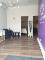 THERAPY ROOMS AND OFFICES TO RENT IN WEST-ISLAND MASSAGE CLINIC
