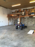 HUGE 2 BAY SHOP AVAILABLE near NISKU and BEAUMONT
