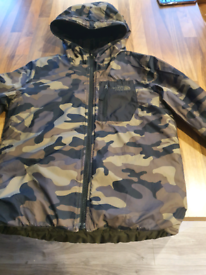 North face reversible kids coat