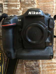 NIKON D4 - BODY + ACCESSORIES + 50MM 1.2 LENS !!