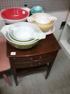 Trunks, side tables, Pyrex,  retro glasses/dishes plus 600 booth Stratford Kitchener Area image 2