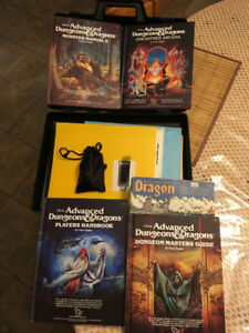 Collectors Advanced Dungeons and Dragons Treasure Chest