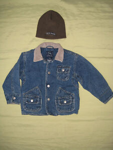 Jean jacket and toque 3T