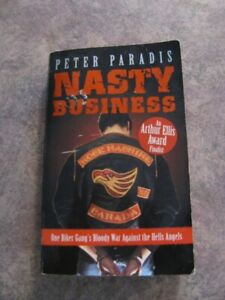 """NASTY BUSINESS"" BOOK - RARE"