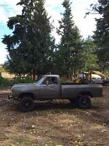 1991 Dodge Power Ram 2500 Cummins Diesel North Shore Greater Vancouver Area image 2