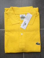 Brand New Mens Yellow Lacoste Polos Size 3,4,5,6,7,8,9 & 10