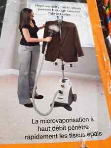 Used fabric steamer $25