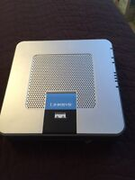 Linksys broadband router with 2 phone ports