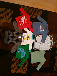 Boy clothes 0 to 18 months