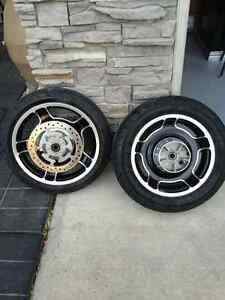 Roadglide rims and tires
