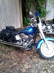 2007 HARLEY DAVIDSON FATBOY 96 CUBIC IN. 6 SPEED London Ontario image 2