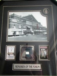 Memories of the Montreal Forum framed limited editon 7 / 999