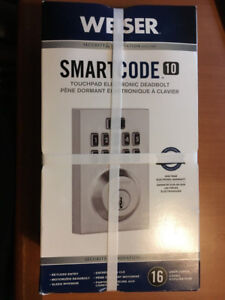 WEISER SMARTCODE 10 CONTEMPORARY ELECTRONIC LOCK 9GED17000-004