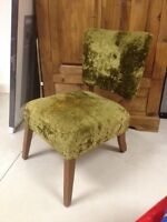 Fauteuil / Chaise d'appoint style antique