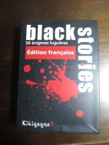 Jeu Black Stories