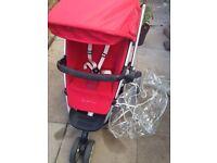 Quinny buzz with maxi cosy car seat