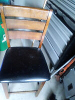 Chair (several inches higher than most)