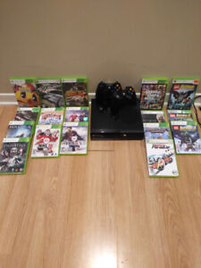 Xbox 360 & games included
