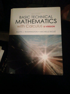 Basic technical mathematics with calculus (SI version)