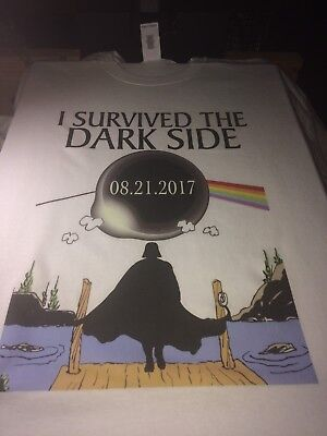 Solar Eclipse 2017 August Star Wars Floyd Inspired T Shirt