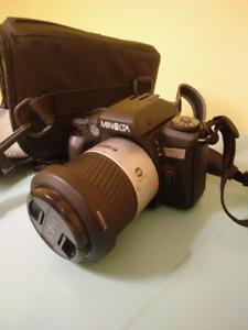 Minolta Maxxum 70 slr 35mm camera