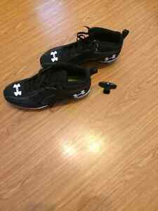 Under Armour size 12 football cleats