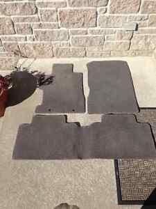 Honda civic floor mats, 2006-2011, front and rear