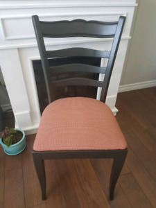 4 REFINISHED CHAIRS