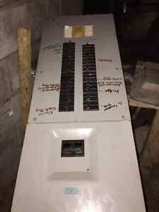 200 amp electrical panel with breakers