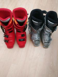 Bottes de ski à donner