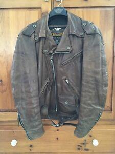 Genuine HD Bomber Leather Jacket