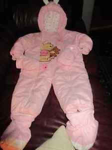 Adorable pink Winnie the Pooh snowsuit 12-18 months
