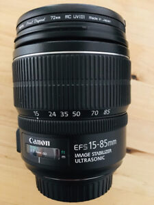 Canon ef-s 15-85mm lens f/3.5-5.6 USM-Mint Condition