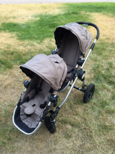 Baby Jogger City Select LUX Stroller for 2 kids and bassinet
