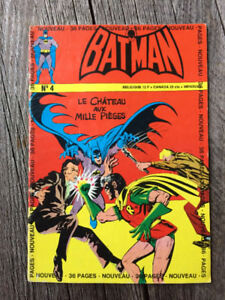Dc Comics B.D. Interpresse Batman, Batman et Robin.