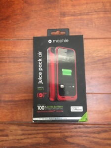 Mophie red charger for iPhone 5/5S/SE