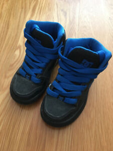 Boys DC running shoes size 11