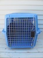 Animal crate 26 inches long x 17 x 16 inches wide $22