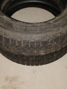 2 pairs of Firestone winter force tires P185/65R15