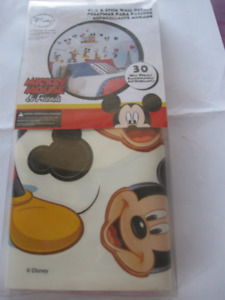 New~Disney Mickey Mouse & Friends Wall Decals~Smoke free