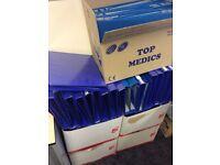 New & used folders